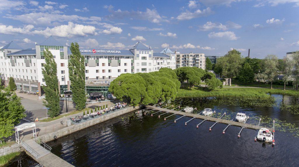 Original Sokos Hotel Vaakuna Hämeenlinna, ulkokuva