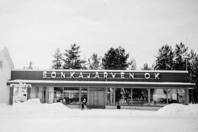 Nykyisen myymälän paikalla on toimittu jo pitkästi yli puoli vuosisataa.