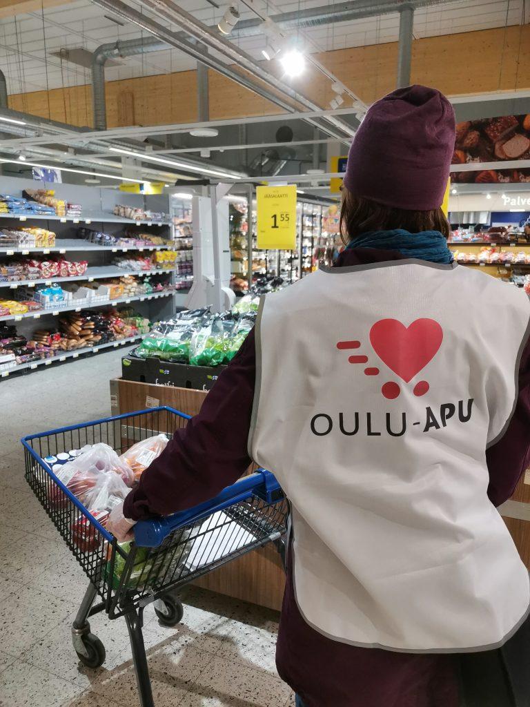 Oulu-apu Tuiran S-marketissa