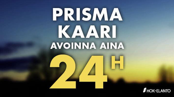 Prisma Linnanmaa Avoinna