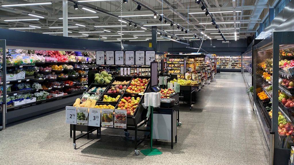 S-market Petäjävesi yleiskuva
