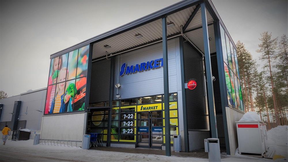S-market Tikkakoski julkisivu