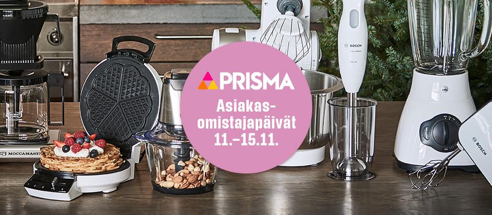 Prisman asiakasomistajapäivät 11.–15.11.!